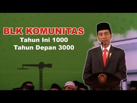Presiden Jokowi Ingin Jumlah BLK Komunitas Ditingkatkan